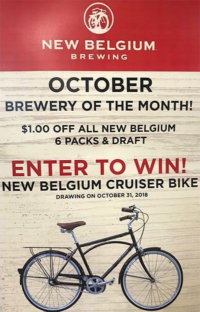 Hopey & Co. Asheville Asheville Grocery Black Mountain Asheville Cafe Black Mountain Grocery Enter to win new belgium crusier bike